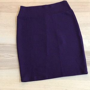 LuLaRoe purple Cassie skirt